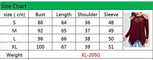 JOTHIN 2018 Spalline Regolabili Sexy Top Trasparente Manica Lunga T-Shirt Irregolare Casual Magliette Tinta Unita Elegante Bluse Donna Nero