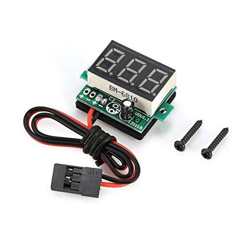 CamKpell Onboard Lithium Batterie Erkennung Meter Empfänger 3.6V ~ 30V Range Voltage Led Display für RC Modelle DIY Ersatzteile - Grün