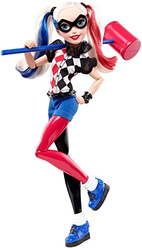 DC SUPER HERO GIRL - DLT65 - Poupée Girls Harley Quinn
