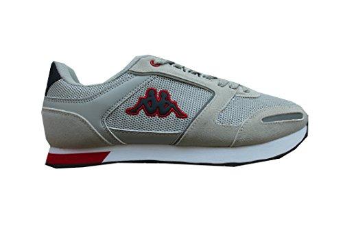 Kappa Voghera 4Footwear Schuhe Herren Grau/Blau/Rot Grigio/Blu/Rosso