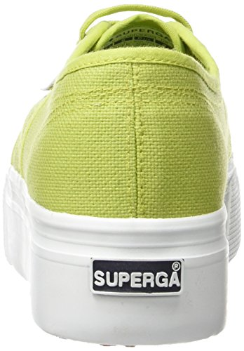 Superga 2790 Acotw - Scarpe da Ginnastica Basse Donna Verde (Green (Apple Green))