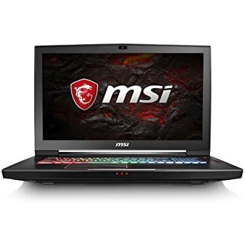 """MSI Titan SLI 4K GT73VR 7RE-807ES - Ordenador portátil de 17.3"""" UHD (Kabylake i7-7820HK, RAM de 32 GB DDR4, HDD de 1 TB y SSD de 512 GB, Nvidia Dual GeForce GTX 1070, Windows 10 Home) color negro"""