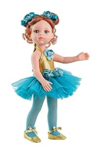 Paola Reina Ropa muñeca Cristi Bailarina 32 cm, 54448