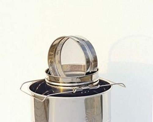 Diverse Supplier Stainless Steel Double Honey Strainer 2