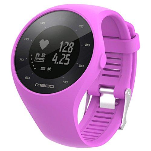 d1adf7a3d390 para reloj polar m200 correas 6 colores bandas de reemplazo suave silicona  correas pulsera para POLAR
