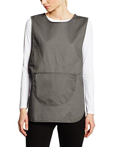Premier Workwear Ladies Pocket Tabard, Hauts Femme Gris foncé