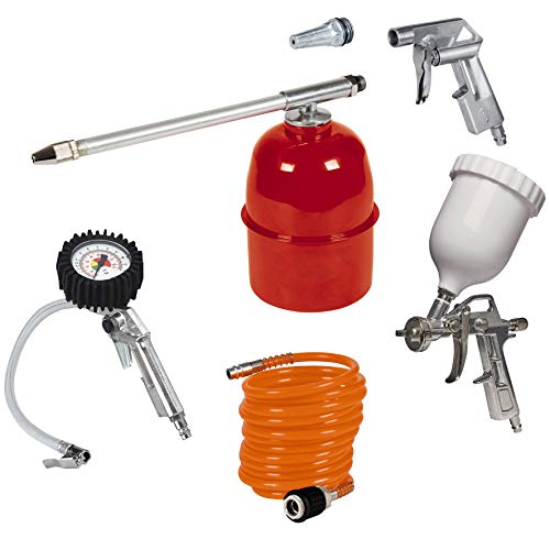 Einhell Kit accesorios compresor aire, 5