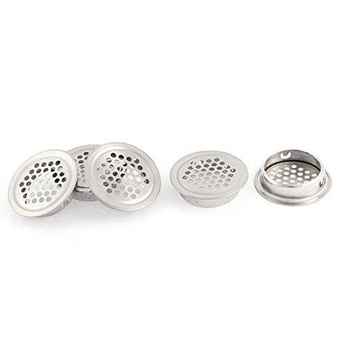 eDealMax Cocina Fregadero de la bañera del tamiz de drenaje Tapón de 42mm Cabeza Dia 5 piezas