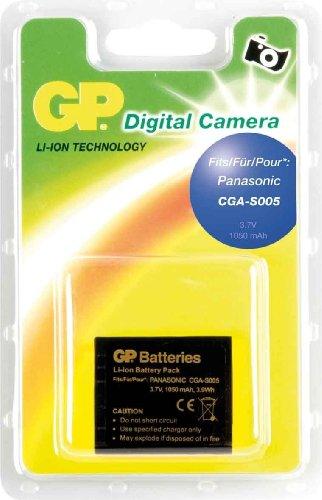 GP Akku für Panasonic CGA-S005 / DMW-BCC12 / Fujifilm NP-70 / Leica BP-DC-4 / Ricoh DB-60 (Li-Ion, 3,7V, 1050 mAh)