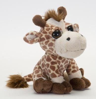 Petjes World Bright Eyes Giraffe Soft Toy 20cm