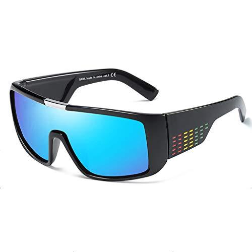 (LCPG Herren-Sport-Sonnenbrillen Radfahren Brillen Outdoor-Sonnenbrillen DOMO Sonnenbrillen (Farbe : #3))