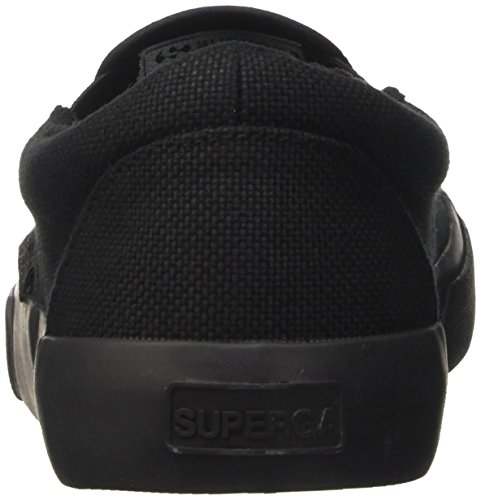 Superga 2311 Cotu, Mocassins Mixte Adulte Schwarz (total black)