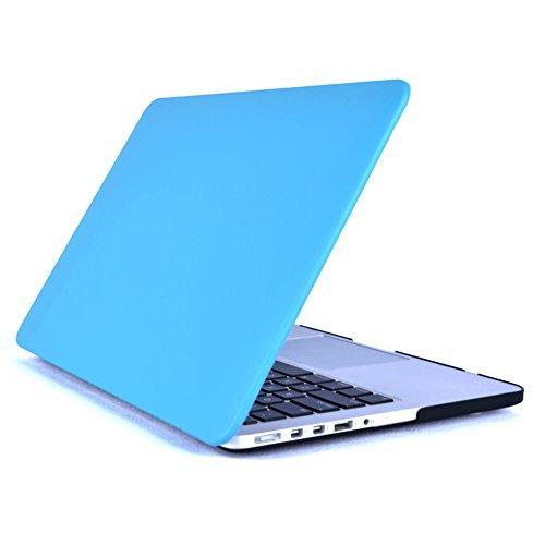 SULN Hard Case für MacBook Air 33cm Modell A1369/A1466Schutzhülle Cover blau PU Sky Blue Cover Blue Snap