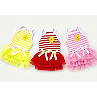 smalllee_lucky_store Pet Puppy Small Dog Cat Lace Skirt Princess Tutu Dress Striped Vest T-shirt Pleated Cat Puppy Cozy Dog Shirt Pet Dress smalllee_lucky_store Pet Puppy Small Dog Cat Lace Skirt Princess Tutu Dress Striped Vest T-shirt Pleated Cat Puppy Cozy Dog Shirt Pet Dress 41 2BcCiIDZSL