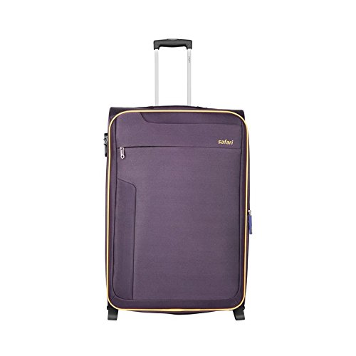 633b5c8115 Safari Polyester 65 cms Purple Softsided Cabin Luggage (IRIS652WPUR ...