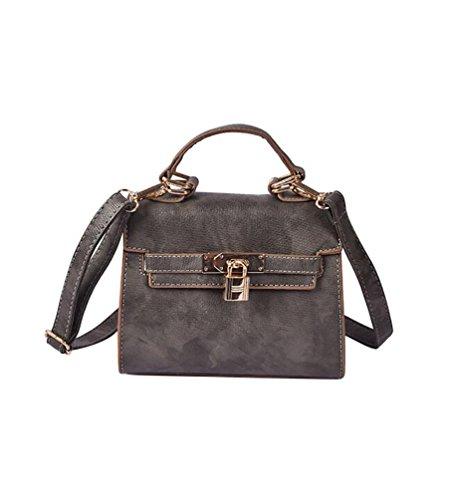YouPue 2017 Modetrend Handtaschen Tasche Beiläufige Handtaschen Frauen Handtasche Weiblichen Beutel Handtaschen Grau