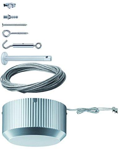 Paulmann 5310Lighting Accessory–Lighting Accessories (Grey, metal, TÜV, 300W, 12V, 19.3cm)