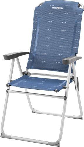 Silla de camping brunnr - Kerry Camper - aluminio - azul