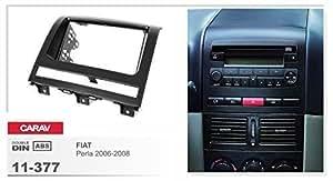 CARAV 11-377 façade d'autoradio double dIN pour fIAT strada pick-up perla