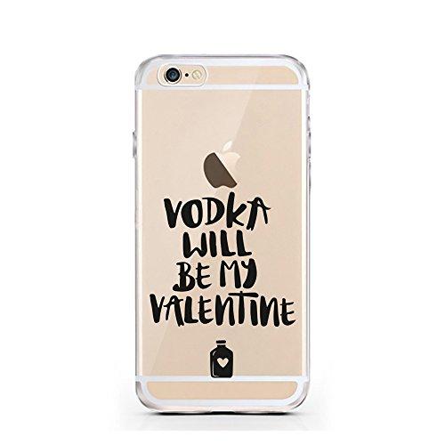 iPhone 6S Hülle von licaso® für das Apple iPhone 6 & 6S aus TPU Silikon Super Hero is my middle Name Super-Held Muster ultra-dünn schützt Dein iPhone & ist stylisch Schutzhülle Bumper Geschenk (iPhone Vodka will be my Valentine