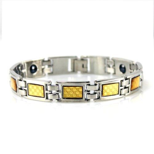 Power Ionics Power Ionics Titanium Mens Power Ionics Bracelet Energy Band Balance Bracelet Wristband Stretch