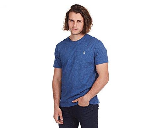 Ralph Lauren Classic-Fit T-Shirt - Royal Heather - - Shirt, Lauren Ralph Classic-fit