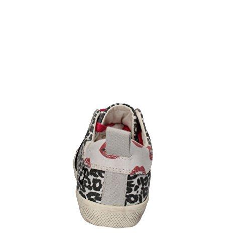 D.A.T.E. , Mädchen Sneaker weiß / schwarz