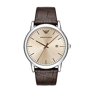 Emporio Armani de los hombres vestido reloj