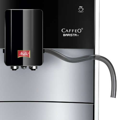 Melitta Caffeo Barista T Macchina per Caffé e Bevande Calde Automatica, 1450 W, 2 Cups, Plastica, Argento