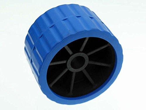 Seitenrolle Sliprolle Kielrolle 120x80mm Ø21 Blau für Bootsanhänger Anhänger