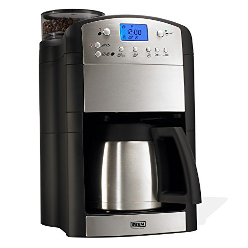 41%2BcKsYPCgL. SS500  - BEEM Fresh-Aroma-Perfect Thermolux | Coffee Machine with Grinder for Coffee Beans and Filter Coffee | 1.25 l Thermal Pot | Permanent Filter | Timer [1000 Watts/Silver]