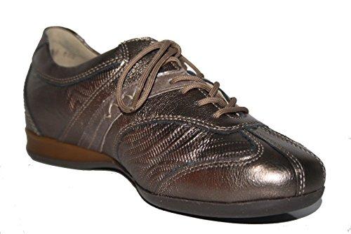 Theresia Muck - Giselle 07 52642 263 457 Damen Schuhe Schnürhalbschuhe Weite G Braun (hanf/hanf/heu)
