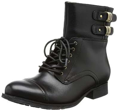Clarks Mimic Play 20355449, Damen Biker Boots, Schwarz (Black Leather), EU 35.5