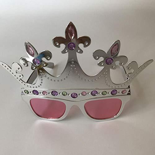 Personalisierte dekorative Gläser Kreative Krone Geburtstags-Show Requisiten Bar Parodie Requisiten Party-Foto-Sonnenbrille