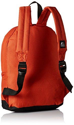 Everest, Sac à Dos Enfant Mixte Adulte, Rustic Orange (Orange) - 10452-ROG/BK
