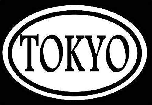 CELYCASY Tokyo Aufkleber Drift Decal Olympics Asain Sticker (Drift-autos Tokyo)