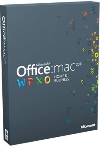 Office für Mac 2011 Home & Business (Multipack / deutsch) (Office 2011 Mac Business)