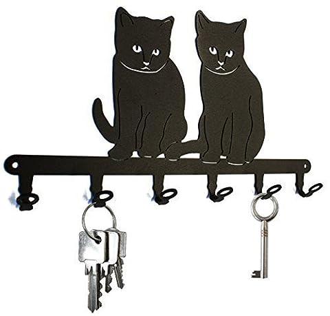 Tableau des clés * Bébé Chat * - 6 crochets