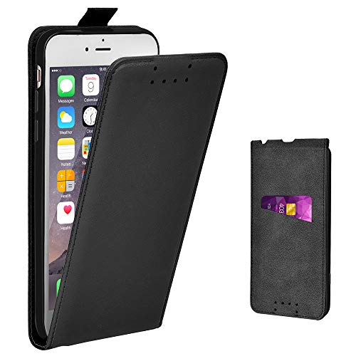 Adicase iPhone 6 Plus Hülle Leder Tasche für Apple iPhone 6 Plus