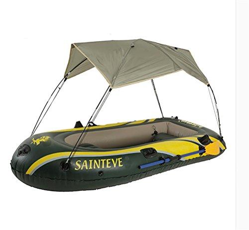 POTA Kayak barco de pesca barco bote inflable con sombrillas