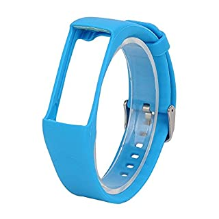 KOBWA Polar Armband, Silikon Ersatzband Uhrenarmband Wechselarmband Wrist Strap für Polar A360/ A370