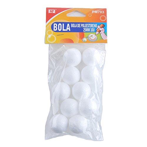 mp-pm703confezione-da-10palline-di-polistirolo-25mm