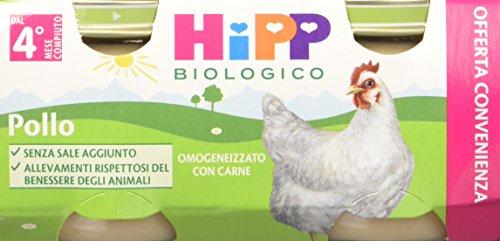 Hipp Omogeneizzatogeneizzato Pollo 24 vasetti da 80 g