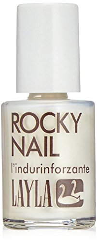 LAYLA Cosmetics Rocky Nail – Nail Hardener Transparent, pack de 1 (1 x 0,01 L)