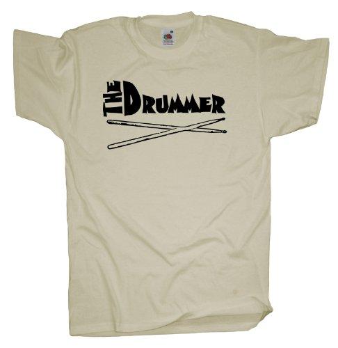 Ma2ca - Drummer - T-Shirt Drumsticks Natural