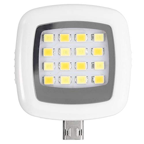 8 Lampe Vanity Licht (Riuty Flash-Fill-Licht, Mini-LED-Surper-helle LED-Clip-on-Kamera-Licht für Mobiltelefon Selfie-Helligkeits-Fotografie-Lampe (2#))