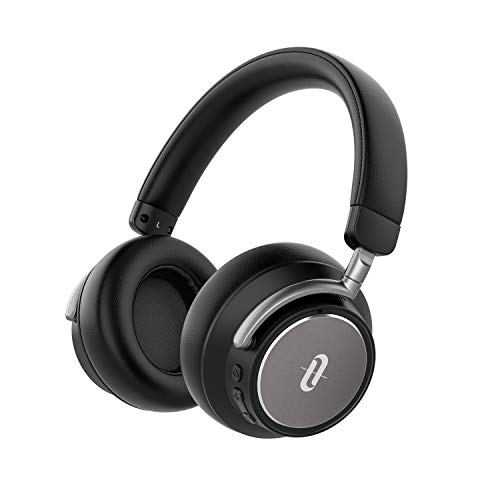 TaoTronics Noise Cancelling Bluetooth Kopfhörer mit Hybrid Aktive Geräuschunterdrückung Surround Sound Hochwertiger Sound Tiefer Bass und Schnelllade Technologie 25 Std. Wiedergabezeit, Hoher - Bluetooth-sound-cancelling