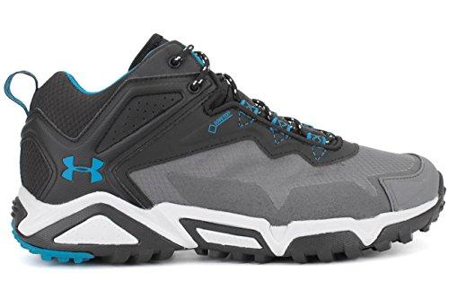 Under Armour Tabor Ridge Low Hommes Synthétique Chaussure de Randonnée Black-Graphite