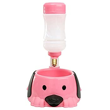Tao King Pet Bouteille automatique distributeur d'eau potable Fontaine mangeoire à Gamelle pour chat en plastique