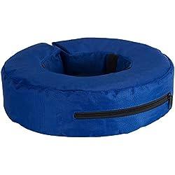 Kruuse Buster aufblasbare Hunde Halskrause (XS) (Blau)